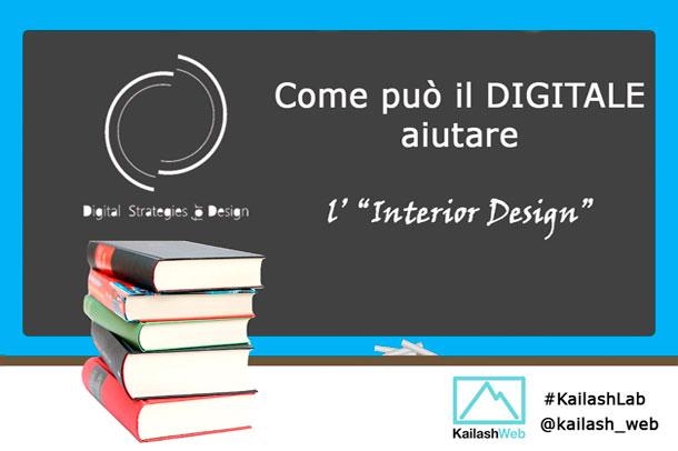 Come può il digitale aiutare l'interior design